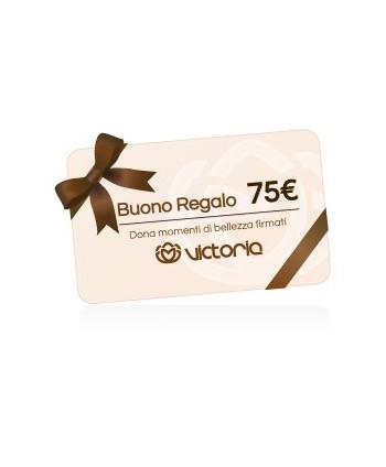 Gift card da € 75