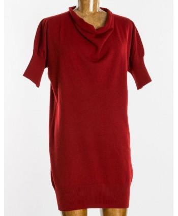 Vestito Corto Rosso