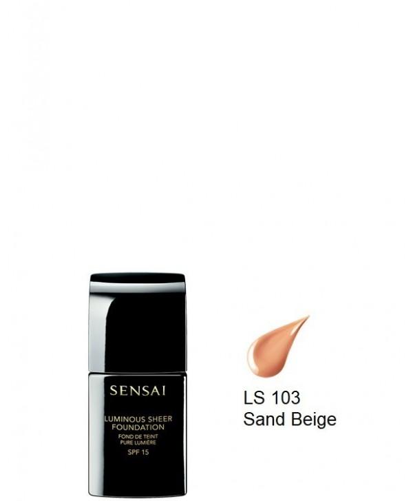 Luminous Sheer Foundation spf15 LS103 Sand Beige (30ml)