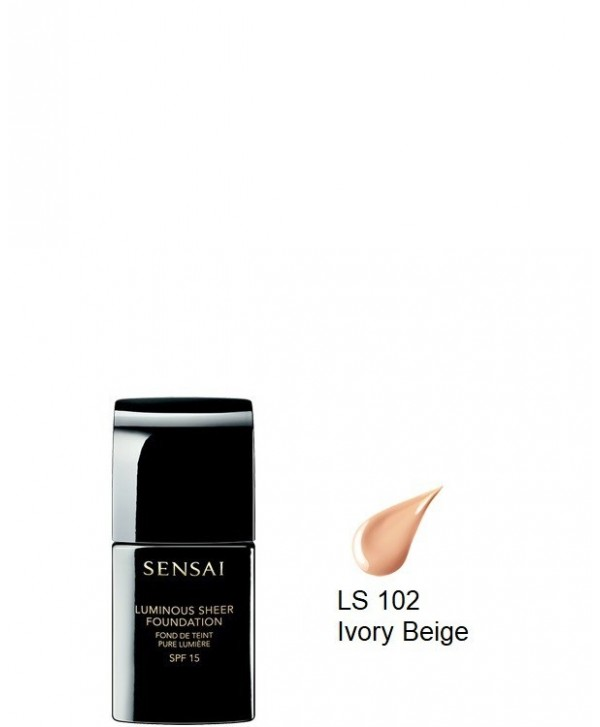 Luminous Sheer Foundation spf15 LS102 Ivory Beige (30ml)