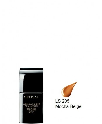 Luminous Sheer Foundation spf15 LS205 Mocha Beige (30ml)