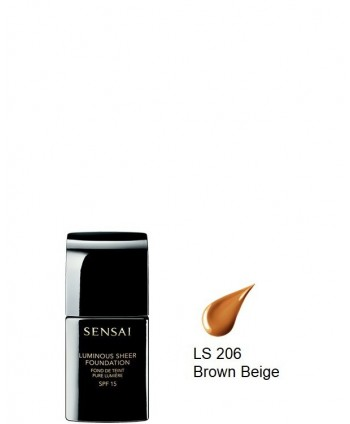 Luminous Sheer Foundation spf15 LS206 Brown Beige (30ml)